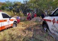 Mujer de 68 años cae a una noria en Juluapan; ya fue rescatada con vida