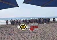 ¡Otro más! Muere ahogado un masculino en aguas marinas de Cuyutlán