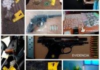 En el combate contra el narcomenudeo Fiscalía ha asegurado en 30 días, 17 inmuebles, 6 armas de fuego y ha detenido 22 personas