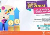 Invita Ayuntamiento de Colima a charlas sobre la mejoría en ventas