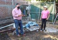 Se establece el servicio de agua en la localidad de las Conchas