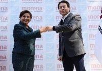 Anuncian coalición MORENA y Nueva Alianza
