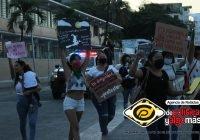 En Manzanillo, colectivo se pronuncia en contra de la violencia contra las Mujeres
