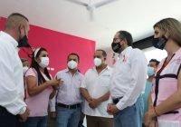 Gobernador reconoce trabajo de la Asociación Contra el Cáncer Tecomense