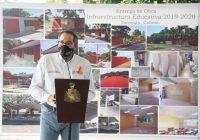 Entrega Gobernador obra educativa en 29 planteles del municipio de Tecomán