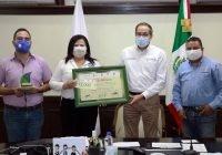 Entrega Gobernador Galardón Escuela Sustentable 2020