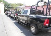 Fuerzas estatales capturan a cuatro sujetos por robo