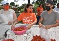 Azucena López Legorreta promovió entregas de apoyos de programas alimentarios