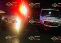 Arriba al hospital de Tecomán baleado procedente del Estado de Michoacán