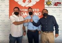 Se suma a Movimiento Ciudadano Andrés Alberto Orozco Larios