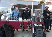 Entrega Elías Lozano equipamiento por 4.5 MDP del FORTSEG