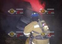 Esta madrugada se incendian dos vehículos sobre la carretera libre a Manzanillo