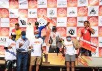 Premia Gobierno del Estado a ganadores del Torneo de Surf Clásico de Pascuales