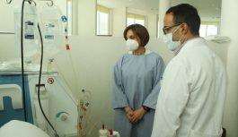 Renuevan máquinas para tratamiento de hemodiálisis