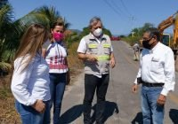 Arranca Seidur obra de reconstrucción de drenaje en puente de Armería