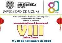 Invitan a conferencias de la VIII Jornada Académica Internacional sobre Corea