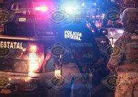 Sujetos armados golpean a un joven y disparan al aire rumbo a Coquimatlán