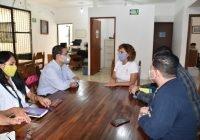 Azucena López Lgorreta, toca puertas ante instancias estatales para atender el caso de Laura y Rogelio que habitan a un lado del Eco ParC