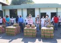 DIF Estatal distribuye donación de bebidas hidratantes a asociaciones civiles