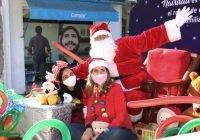 Lleva el DIF Estatal alegría a niñas y niños a través de Caravanas Navideñas