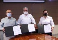 Secretaría de Educación signa convenio con el INE para instalación de casillas electorales en escuelas