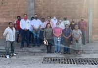 Miguel Ángel Galindo gestiona recuperación de terreno albergue cañero en Suchitlán