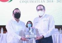 """""""Con trabajo, disciplina y en equipo, estamos cambiando la cara de Coquimatlán"""": Lupe Benavides"""