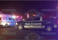 Custodia del cereso de Colima casi pierde la pierna tras accidente en Av Niños Héroes