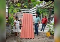 Respalda Miguel Ángel Galindo programa de materiales a bajo costo en Comala