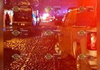 Se registra incendio en sub estación de CFE, en Tecomán