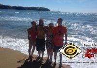 Rescatan a tres turistas de morir ahogados en Olas Altas, Manzanillo