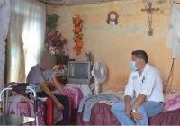 Realiza Dr. David Garcia gira de trabajo de atención de la salud a domicilio
