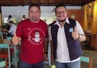 Se reune el diputado Memo Toscano con Javier Pinto, Presidente de Nueva Alianza