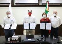 Firma Gobierno del Estado convenio para  estrategia educativa contra el Covid-19