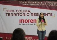 """Agradece Indira Vizcaíno participación de sectores sociales en el Foro """"Colima, territorio resiliente"""""""