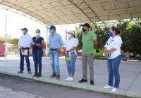 Elías Lozano entrega importantes obras en Cofradía de Morelos