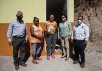 Entrega Lilia Figueroa ampliaciones de vivienda a diferentes familias de Minatitlán