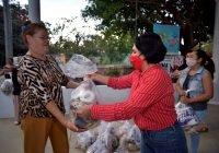 Continúa Lilia Figueroa entregando el Programa de Atención Alimentaria