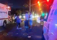 Atropellan a una mujer en Boulevard Miguel de la Madrid, Manzanillo