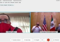 Gobernador se reúne virtualmente con embajador de Estados Unidos en México