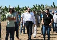 Gobernador beneficia a 124 productores del módulo de riego de Ámela