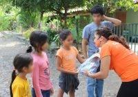 Padrino Aliado llevó sonrisas a niñas y niños de comunidades: Azucena López Legorreta