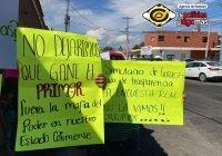 Fundadores de Morena se manifiestan en contra de Indira Vizcaíno y Mario Delgado