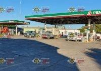 Sujetos armados asaltan oficina de gasolinera en Cofradía de Morelos
