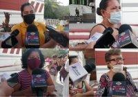 Familiares de desaparecidos respaldan a la Comisionada de Búsqueda de Personas en el Estado