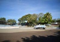 Locho Morán rehabilita cancha de fútbol en la colonia Infonavit