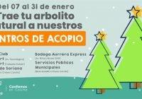 Centros de Acopio para árboles navideños en distintos puntos de la ciudad de Colima