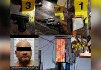 FGE asegura armas y droga en cateo
