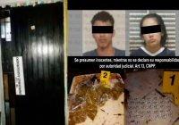 En Manzanillo, Fiscalía detiene a dos personas, asegura inmueble y diversos envoltorios con narcóticos