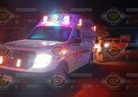 Fallece un hombre tras percance vial en el crucero de San Miguel, en Tecomán